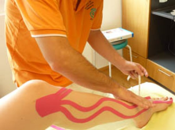Kinesio Taping Therapie